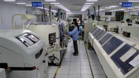 SMT電子代工廠